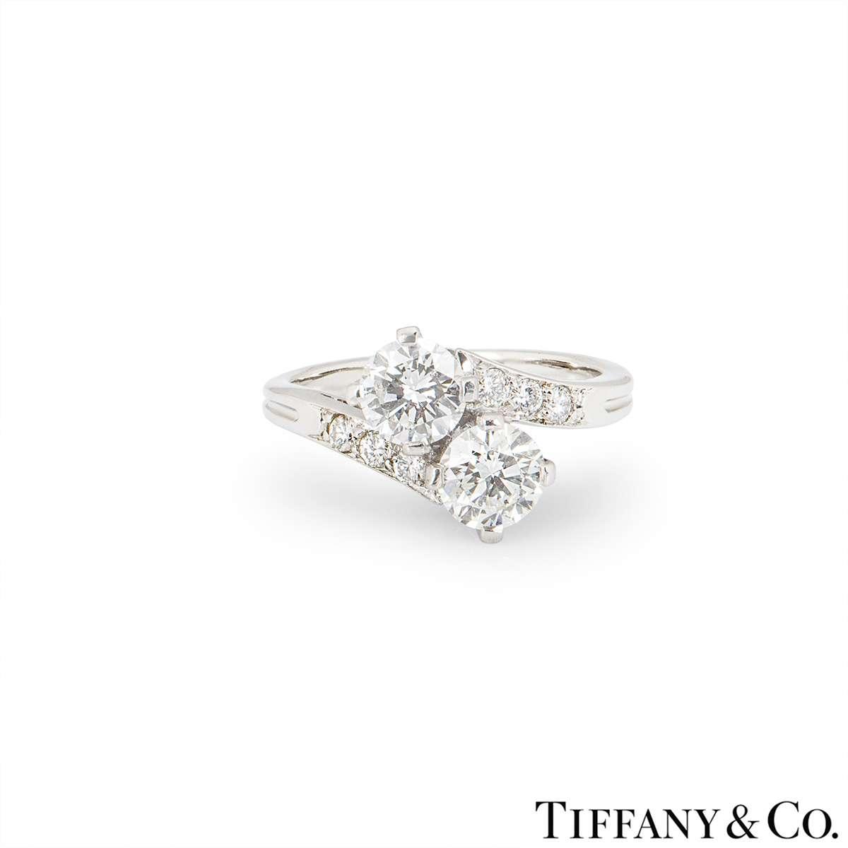 Tiffany & Co. Diamond Set Ring in Platinum C.1960s
